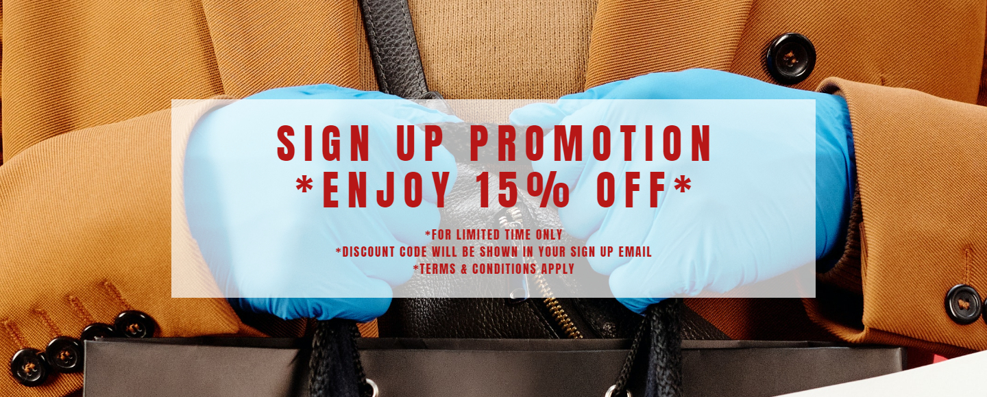 Sign up promo